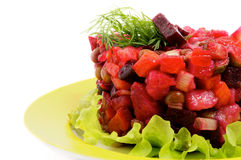 Beetroot Salad Stock Photography
