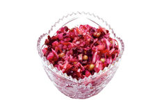 Beetroot salad royalty free stock image