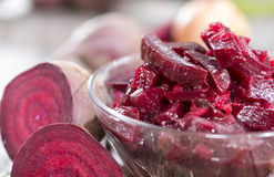 Beetroot Salad in a bowl Royalty Free Stock Image