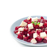 Beetroot salad with feta Stock Images