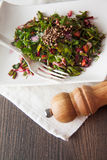 Beetroot salad with herbs Royalty Free Stock Photo