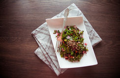 Beetroot salad with herbs Stock Images