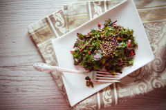 Beetroot salad with herbs Stock Image