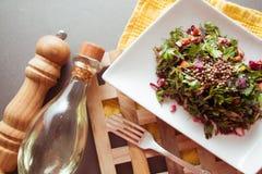 Beetroot salad with herbs Stock Photos