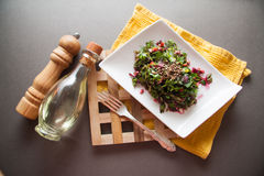 Beetroot salad with herbs Royalty Free Stock Images