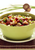 Beetroot salad with herring vertical Royalty Free Stock Image