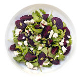 Beetroot Salad  Top View Stock Images
