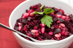 Beetroot salad Royalty Free Stock Photos