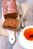 Beetroot seed cake Royalty Free Stock Images