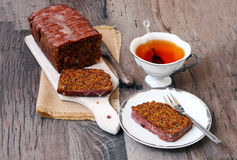 Beetroot seed cake Royalty Free Stock Image