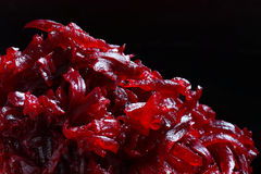 Beetroot shredded Royalty Free Stock Photo