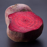Beetroot slice closeup Royalty Free Stock Images