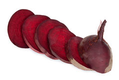 Beetroot sliced Royalty Free Stock Photos