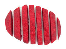 Beetroot sliced Stock Images