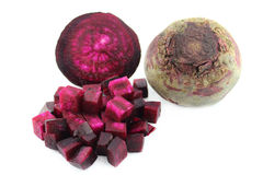 Beetroot sliced Royalty Free Stock Photography