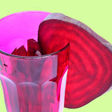 Beetroot sliced Royalty Free Stock Images