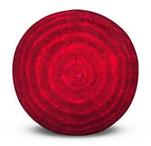 Beetroot. Sliced on white background. Clipping Path stock photos