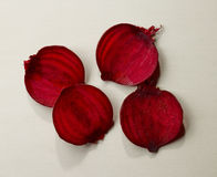 Beetroot slices Royalty Free Stock Photography