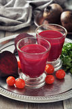 Beetroot smoothie Stock Photo