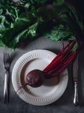 Beetroot sok Organicznie, szkło obraz royalty free