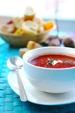 Beetroot Soup Royalty Free Stock Photography
