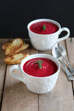 Beetroot soup Royalty Free Stock Photo
