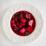 Beetroot soup Royalty Free Stock Photos