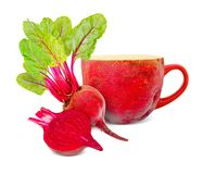 Beetroot tea Stock Photos