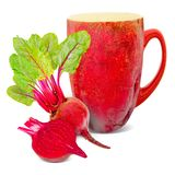 Beetroot tea Royalty Free Stock Photography