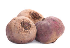 Beetroot on white Royalty Free Stock Photos