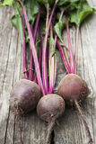 Beetroot on wooden background Royalty Free Stock Image