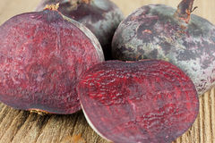 Beetroot. On a wooden table Stock Image