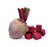 Beetroots stock image