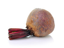 Beetroots isolated on white background Royalty Free Stock Photos