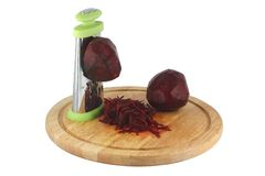 Beets chopped grated Stock Photography