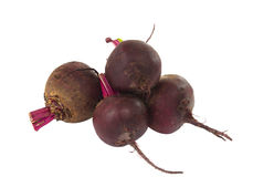 Beets isolated Royalty Free Stock Photography