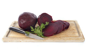 Beets and parsley Royalty Free Stock Photos
