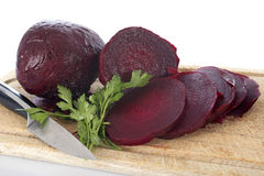 Beets and parsley Stock Photos