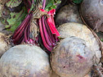 Beets for sale Royalty Free Stock Image