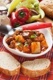 Beew stew eller goulash arkivfoto