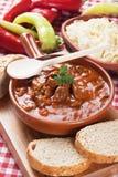 Beew stew eller goulash arkivbilder