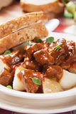 Beew stew or goulash Stock Image