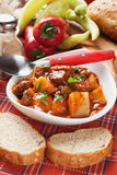 Beew stew or goulash Stock Photo