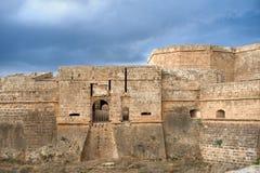 Befästning av den forntida staden Royaltyfri Fotografi