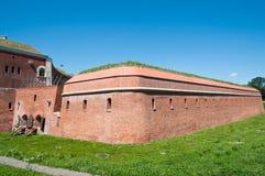 Befästning av Zamosc Arkivfoto