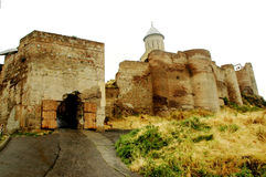 befästning georgia tbilisi Royaltyfria Foton