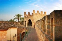 Befästning i Alcudia Royaltyfri Bild