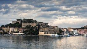 Befästning på Elba Arkivbilder