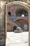 befästningar gammala portsmouth uk Royaltyfria Bilder