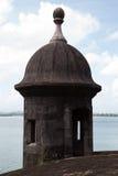 Befästningen av gamla San Juan Royaltyfria Bilder